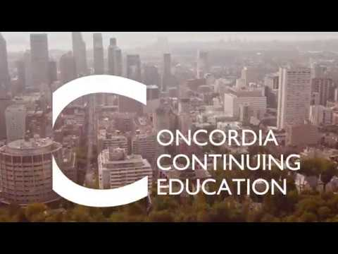 Welcome To Concordia Continuing Education In Montreal (Canada)