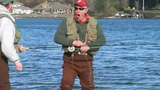 Fly Fishing Searun Cutthroat Trout in Puget Sound