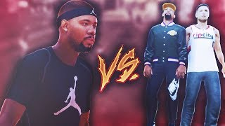 TRE ATTEMPTS THE 2V1 CHALLENGE IN NBA 2K19! TREANDJ NBA2K19