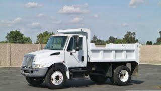 2003 International 4300 5-6.7 Yard Dump Truck