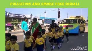 {POLLUTION AND SMOKE FREE DIWALI}
