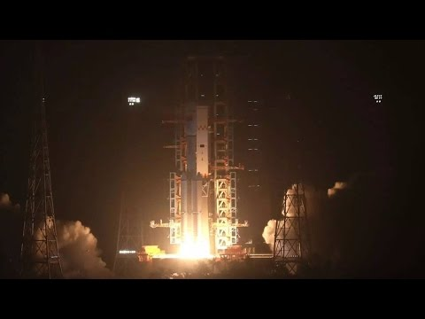 Thumbnail: China successfully launches its first cargo spacecraft Tianzhou-1