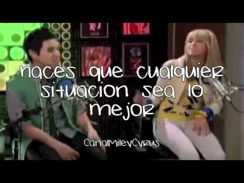 I Wanna Know You  Hannah Montana ft David Archuleta Traducida al Español  YouTubeflv