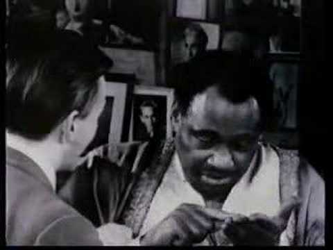 Paul Robeson discusses Othello