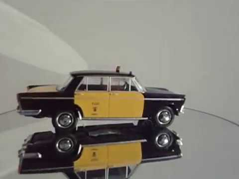SEAT 1500 1/24 taxi de Barcelona, coches inolviables. SALVAT  1/24  - diecast24.blogspot.com.es