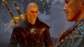 The Witcher 3: Geralt vs Olgierd David Beckham