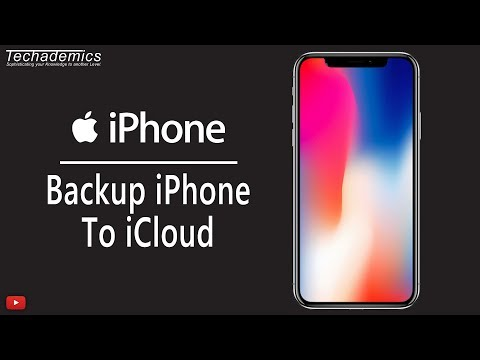 How To Backup iPhone To iCloud | Manually Backup iPhone
