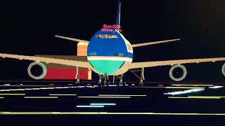 ROBLOX - Pilot Training Flight Simulator Boeing-747 Air Force 1 Departure