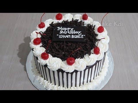 Kue Ulang Tahun Coklat Dekorasi Kue Ultah Cake Tart