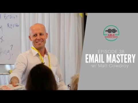 ABR038-Getting To Inbox Zero w/ Matt Cowdroy