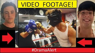 Bryce Hall vs Stromedy ( BOXING FOOTAGE ) #DramaAlert INTERVIEW with BOTH!