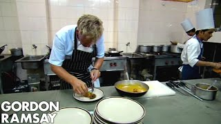 Gordon Ramsay Cooks An Indian Inspired Meal | Gordon\'s Great Escape