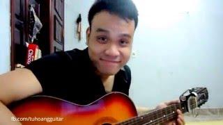 [Guitar Cover] EM ĐÃ BIẾT (Suni Hạ Linh) - Full quạt ★Tú Hoàng Guitar★