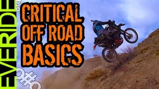 How to Ride a Motorcycle Off Road: 3 Tips for New Dual Sport & ADV Riders: Sit, Stand, Waddle o#o