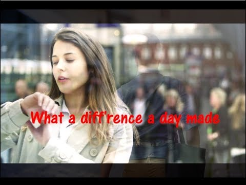 What A Difference A Day Make - Dinah Washington [ With Lyrics ]