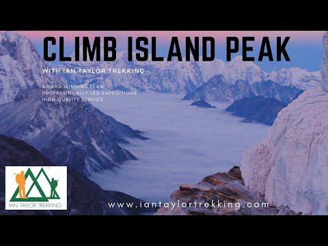 Climbing Island Peak: Raw footage Ian Taylor Trekking