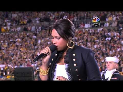 Jennifer Hudson National Anthem
