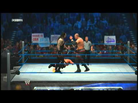 Undertaker VS Brock Lesnar VS Kane  (SmackDown 1.20.12)