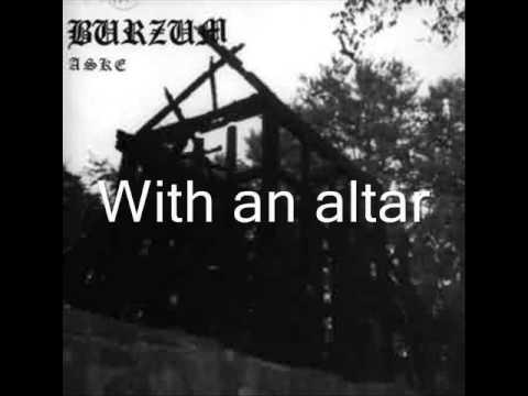 Burzum - A Lost Forgotten Sad Spirit with lyrics