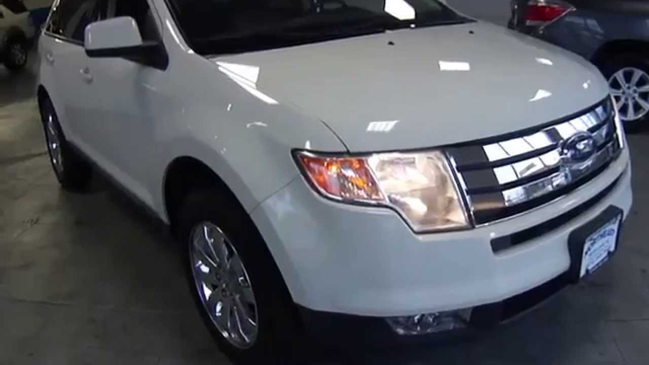 9032 2010 ford edge sel awd white northeast motor cars nj