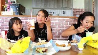 『東京マック』と『大阪マクド』どっちが好み?三姉妹