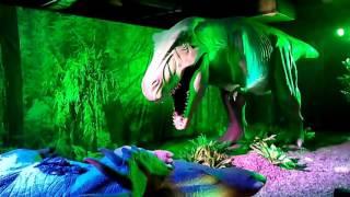 На выставке динозавров в ЦДМ на Лубянке, октябрь 2015