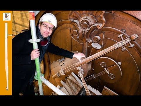 Playing a forgotten Cello High On Top of a Gigantic Historical Organ!!