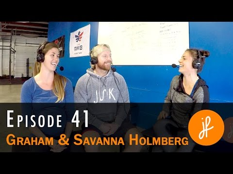 Graham and Savanna Holmberg: From Fittest Man, to Faith and Family - PH41