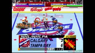 NHL Open Ice: 2 on 2 Challenge - Gameplay PSX / PS1 / PS One / HD 720P (Epsxe)