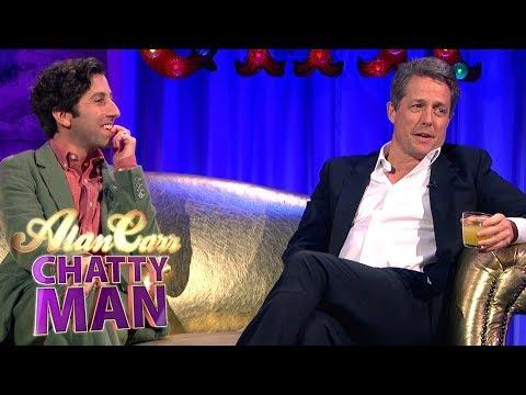 Hugh Grant and Simon Helberg Full   Alan Carr Chatty Man