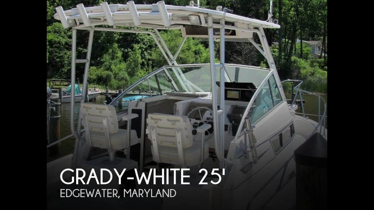 [UNAVAILABLE] Used 1992 Grady-White Sailfish 25 Sport Bridge in Edgewater,  Maryland