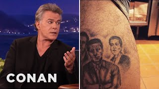 Ray Liotta Met A Ray Liotta Superfan With A Ray Liotta Tattoo  - CONAN on TBS