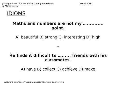 English Grammar Practice With Answers - Myhiton