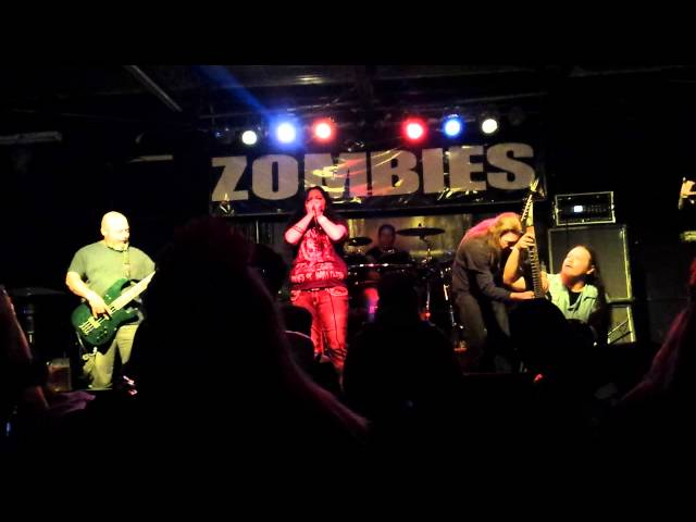 """Excruciating Injaculation"" Live at Zombies November 1,2014 San Antonio,TX"