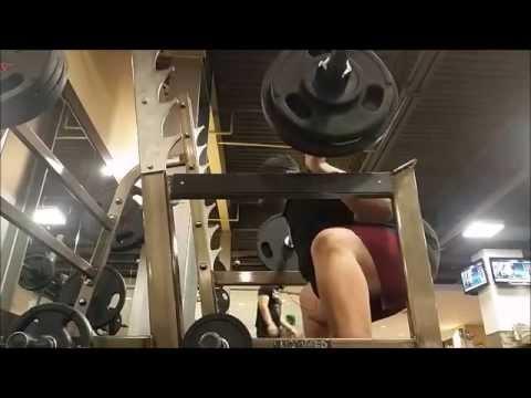 Training Dec 8-9: Squats @215, Deadlifts @290, Bench Press @150