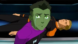 Beastboy acting...or not?/Young Justice outsiders