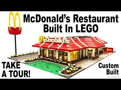 LEGO McDonald's Custom Build MOC Tour
