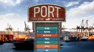 Port Simulator 2012 Hamburg: Getting started with first containers (w/ commentary)