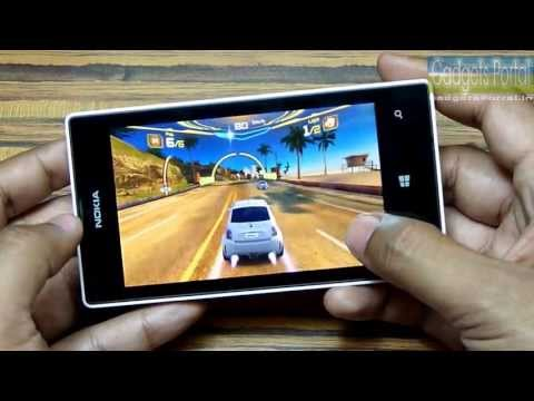 Nokia LUMIA 520 HD Gaming Review: ASPHALT 7, NFS HOT PURSUIT, ASSASSIN'S CREED & more