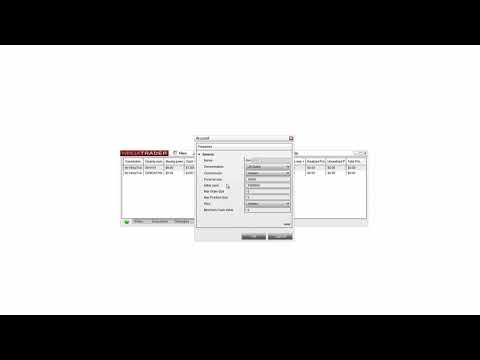 How to Modify the Simulated Trading Account in NinjaTrader