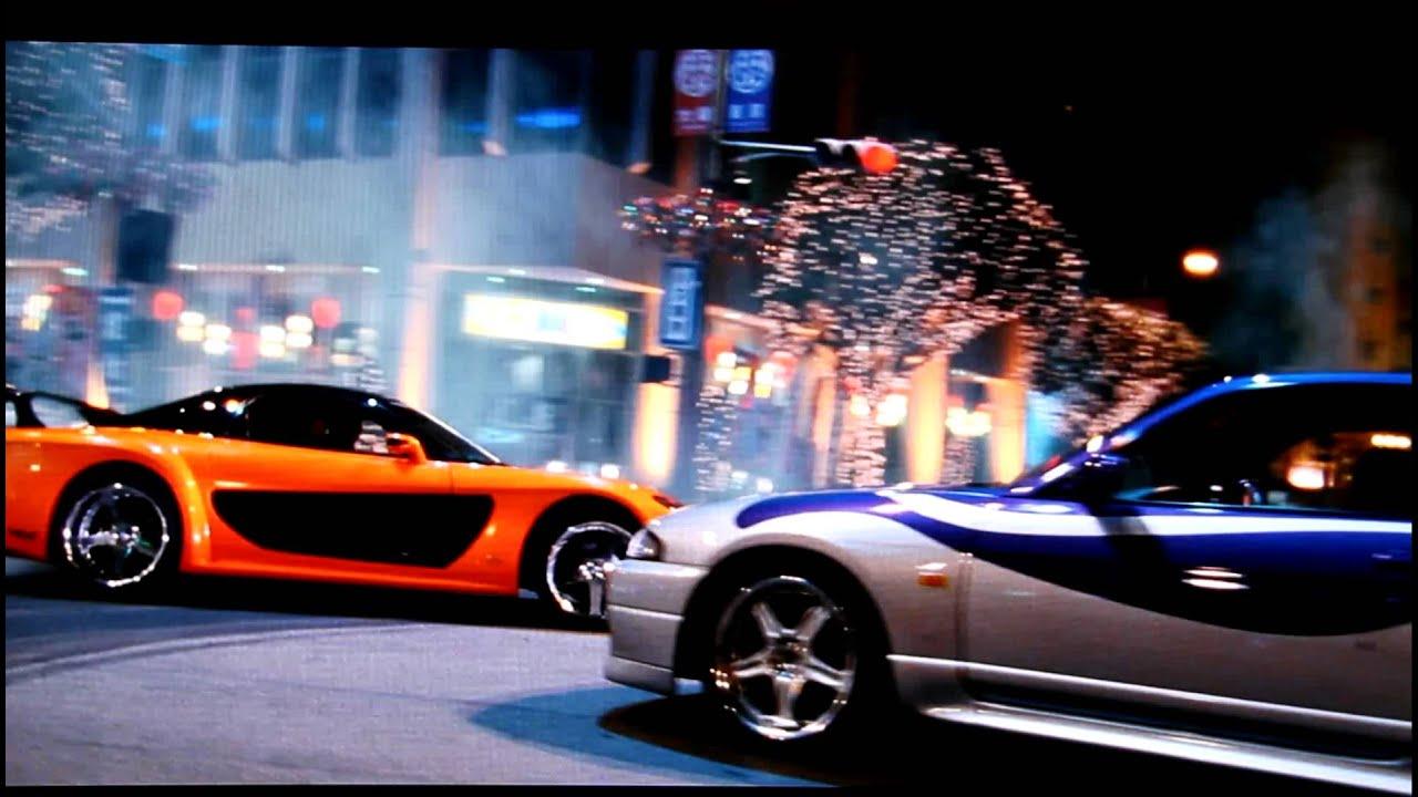 Fast And Furious 8 Cars Wallpaper Hd Han Doughnut Drifting Rx 7 Around Skyline Tokyo Drift