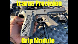Icarus Precision Grip Module for the Sig P320