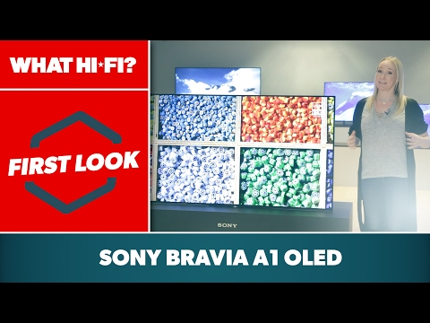 Sony Bravia A1 4K OLED TV - first look