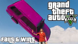 GTA 5 FAILS & WINS #9 (Best GTA V Funny Moments Compilation)