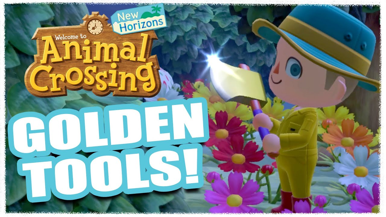 How To Get Golden Tools Animal Crossing New Horizons Youtube