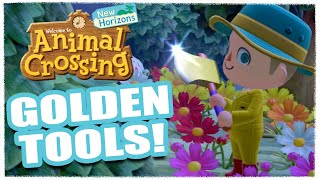 Animal crossing new horizons has a golden tool recipe for each tool. to earn them you'll need simply use the it's intended purpose as listed belo...
