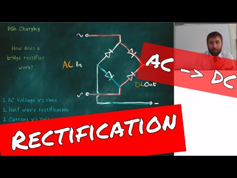 AC - DC Rectification, Diodes and Capacitors - GCSE Physics Revision