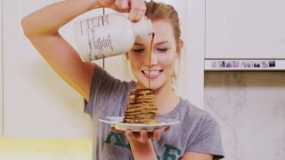 3 Ingredient Pancakes | Karlie Kloss