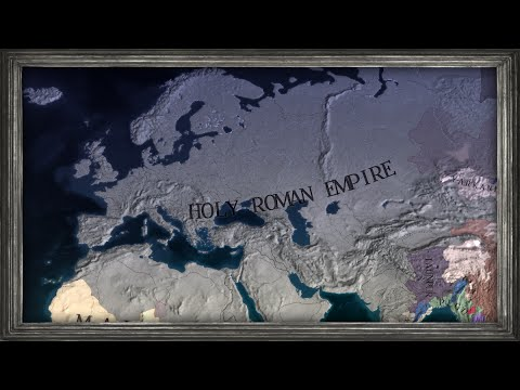 EU4 - Timelapse - Uniting the Holy Roman Empire as Poland (My LARGEST Empire yet!)