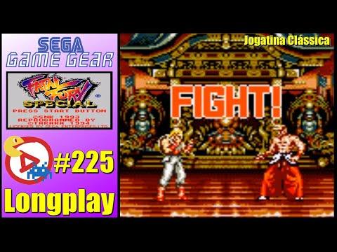 Game Gear Longplay Fatal Fury Special |